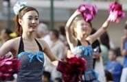 東京実業高等学校Phoenix Regiment 全身使ったパワー全快のパフォーマンス