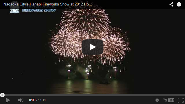 Nagaoka City s Hanabi Fireworks Show at 2012 Honolulu Festival   YouTube