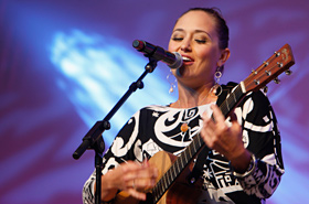 The perfect blend of Anuhea's slightly husky  voice and the sound of her acoustic guitar, very pleasant and enjoyable.