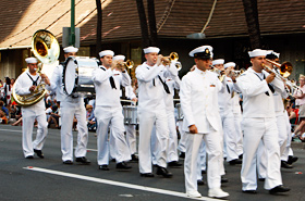 The U.S. Navy Pacific Fleet Marching Band