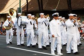 アメリカ海軍のパシフィック・フリート・マーチングバンド
