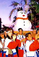 Snowman Mikoshi