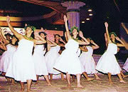 Hawaiian Hula group