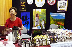 Mulvadi Coffee made from 100% Hawaii coffee beans.