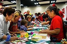 人も子供も楽しめる折り紙教室