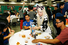 The Cosplay Cafe was once again very popular this year.