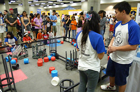 Hawaii Underwater Robotic Challenge (HURC), designed and presented by Hawaii's students.
