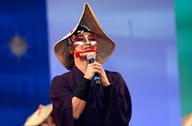 New leader of SUGAREN Kunitomo Yuichiro speaks fondly of their founder Kunitomo Suga.