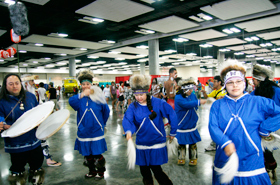 The dance of the Yup'ik group who mainly live in the southwestern part of Alaska.
