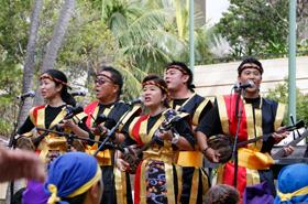 Members of Hawaii United Okinawa Association.