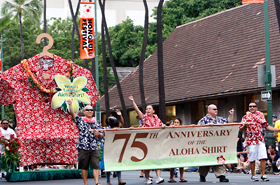 Hilo Hattie's gigantic Aloha Shirt holds a Guinness World Record. The size of this shirt…400 XL!