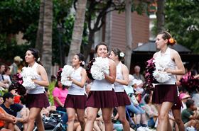 Ysleta High School cheerleaders from El Paso, Texas have won many competition titles.