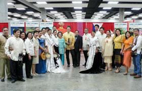 アリエル・アバディリャ フィリピン総領事と共にハワイの ローカルテレビ局KHON2の金曜朝の番組に出演。