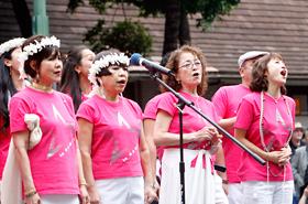 異なる業界で活躍のよく知る日本の著名人の皆さんからなるスター混声合唱団。