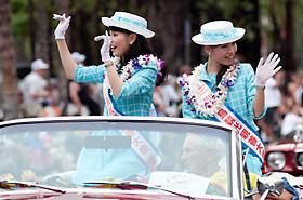 ホノルルと姉妹都市である広島からの広島観光親善大使