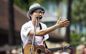Dai Hirai's gentle voice echoed throughout  Waikiki.