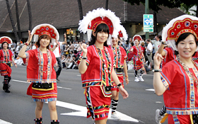 The native costumes of Taiwan are cute and vibrant.