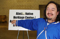 Loren of the Alaska Native Heritage Center.