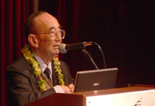 Dr. Samuel N. Mukaida, President of the Joseph Heco Society of Hawaii