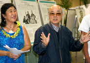 A member of the Joseph Heco Society of Hawaii thanks Professor Fujikawa and her students for their hard work