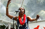 Hawaii's Mahealani Uchiyama performs