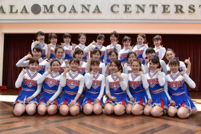 22HF Sophia University Cheerleading Team EAGLES