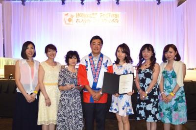 2015 best contribution awards_international flower arrangement association
