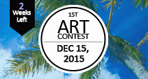 Art Contest will be open to all residents of Hawaii! Submit your image now!<br />