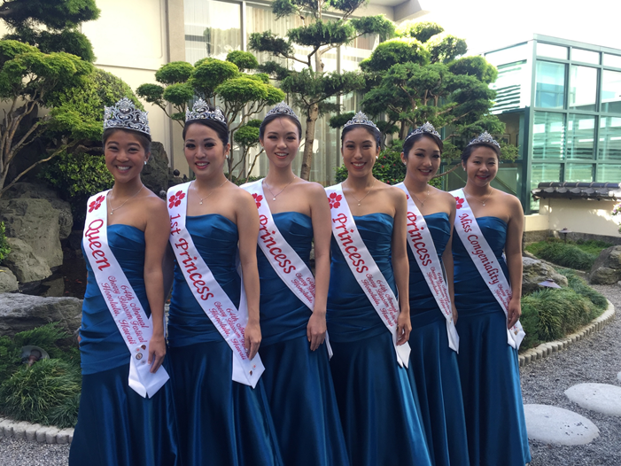 64th Cherry Blossom Festival Court