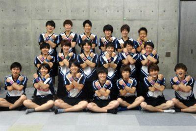 Tokyo Metropolitan University All Boys Cheerleading Team MAXONS    Honolulu  FestivalHonolulu Festival