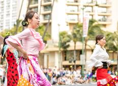 Flamenco Circle iVAMOS! in Waseda University / 早稲田大学フラメンコ集団iVAMOS !