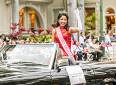 Miss Chinatown Hawaii Queens and Court