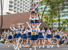 Osaka Gakuin University Phoenix Cheerleading Teamf