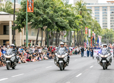 HONOLULU POLICE DEPARTMENT - MOTOR BRIGADE