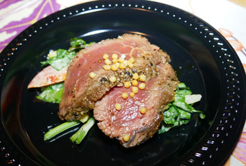 Maui catte Company Beef Takaki(マウイ牧場産牛のたたき)