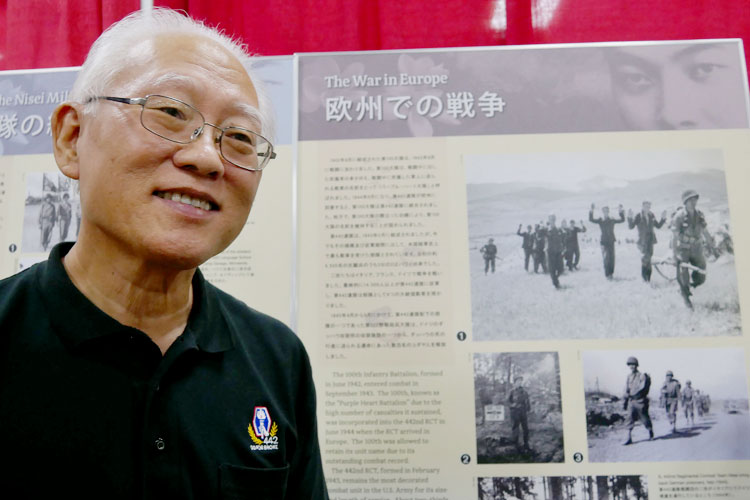 Mr. Barns Yamashita, a member of Hawaii Nisei Veteran Legacy, was an instrument to bring the Nikkei Panel Exhibit to the Honolulu Festival.