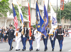 JOINT FORCE COLOR GUARD