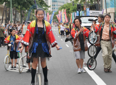 Chigasaki-City Unicycle Japan Champion UCHIDA Sister & Brothers