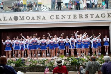 Sophia University Cheerleading Team EAGLES (5)